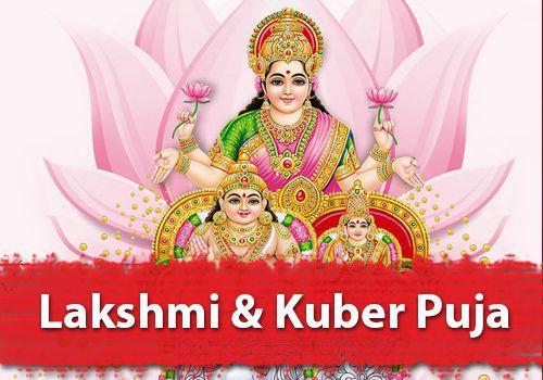 Lakshmi & Kuber Puja for Diwali