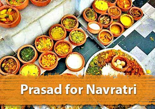 Prasad for Navratri